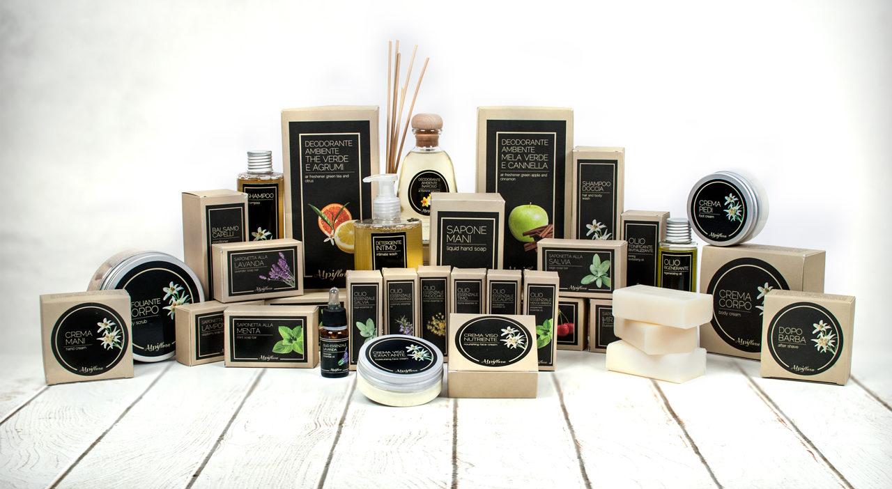 prodotti cosmetici Alpiflora