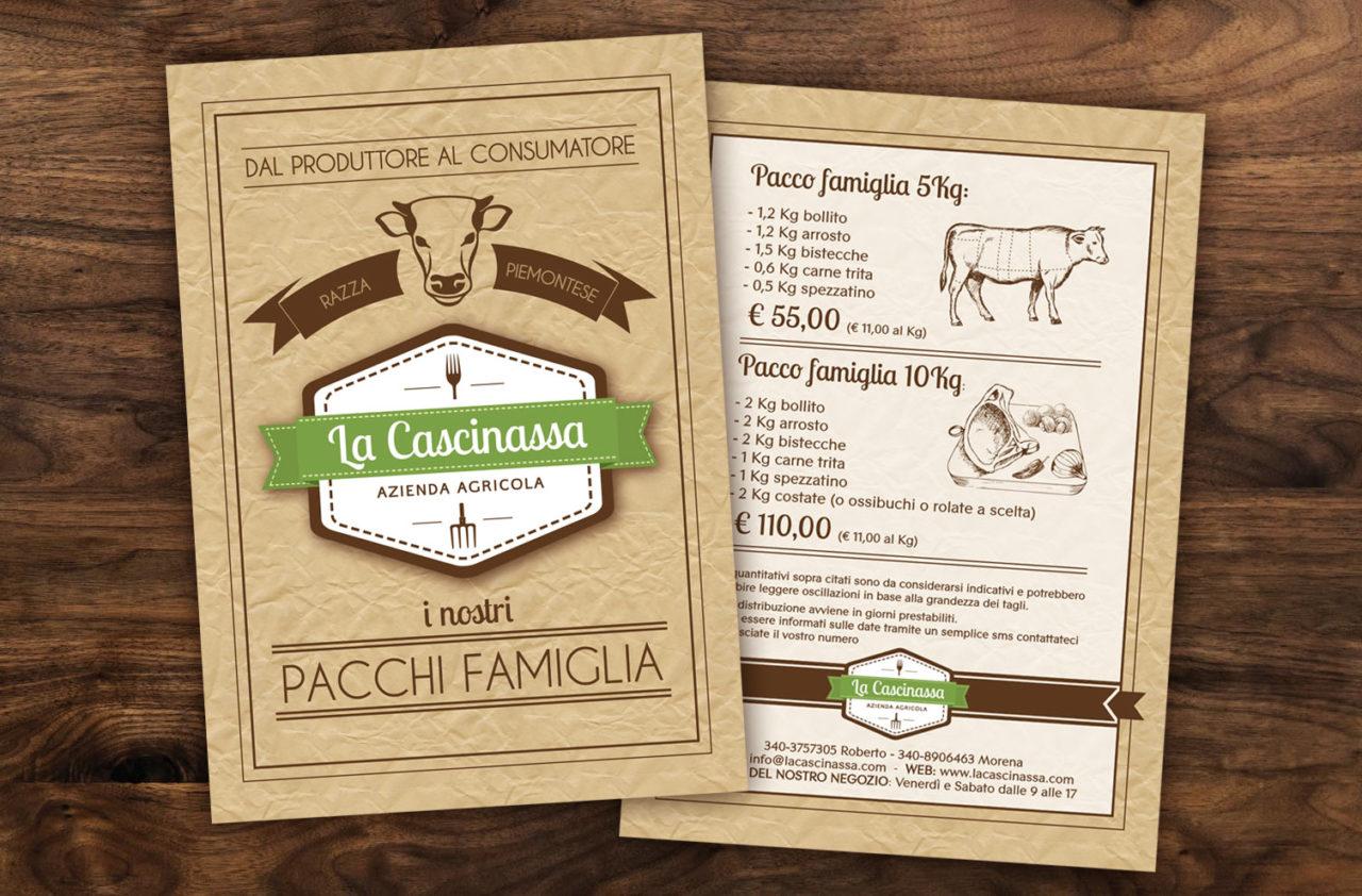 materiale promozionale La Cascinassa