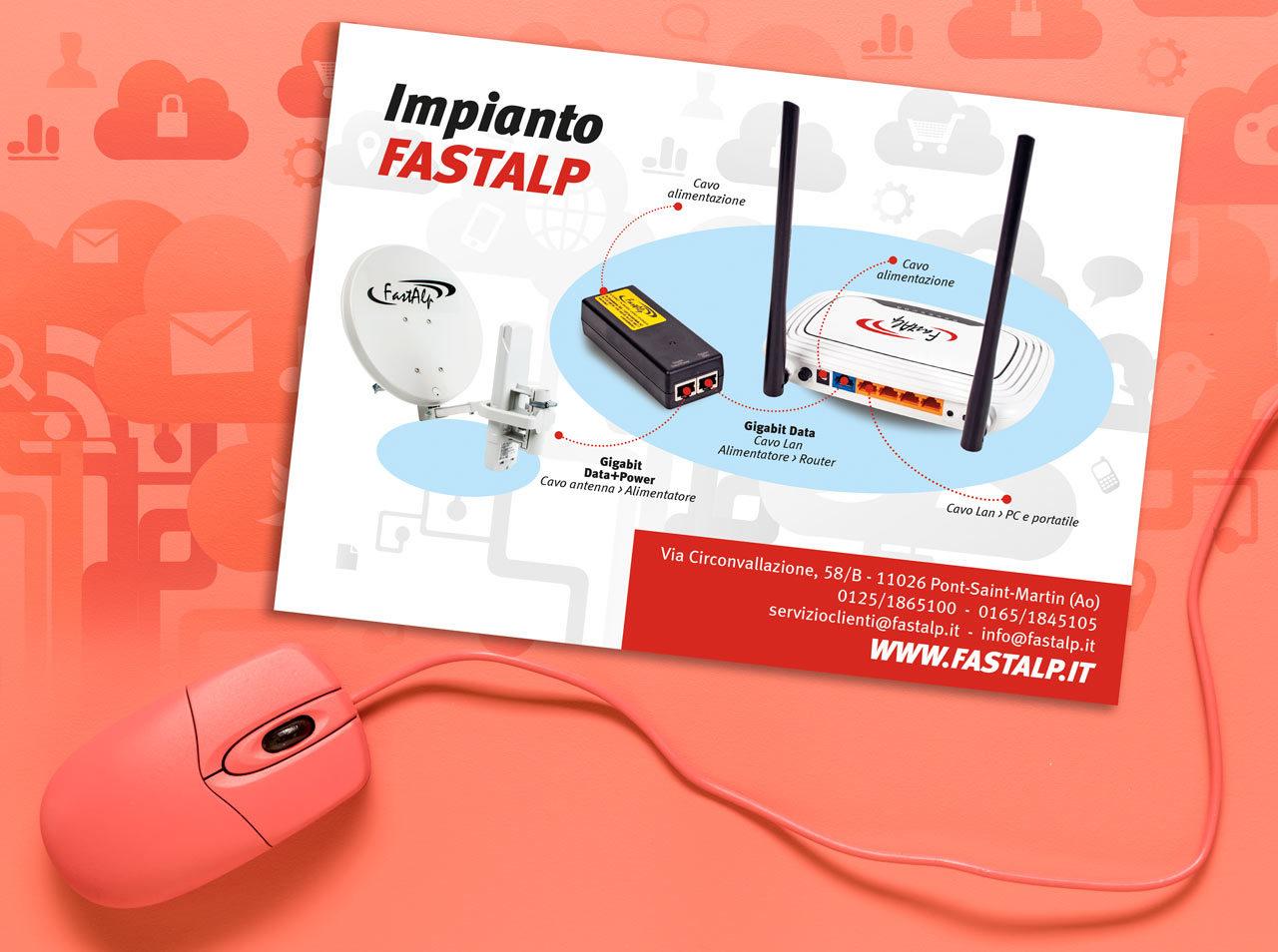 Materiale promozionale fastAlp