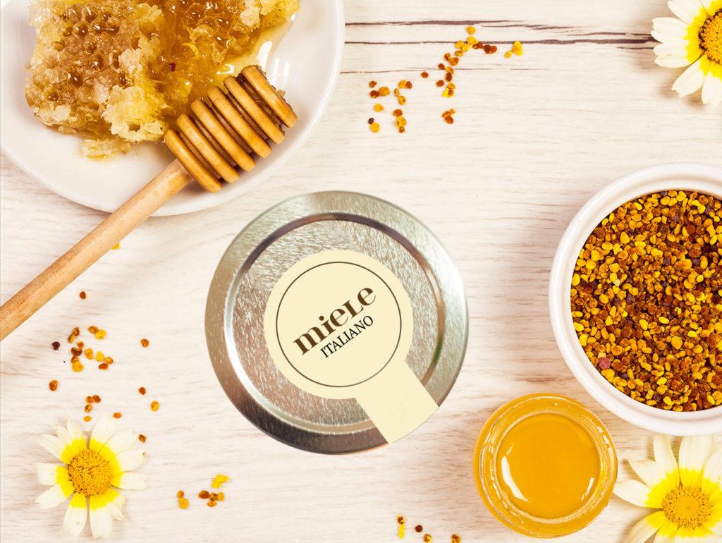 etichette miele della Valle d'Aosta
