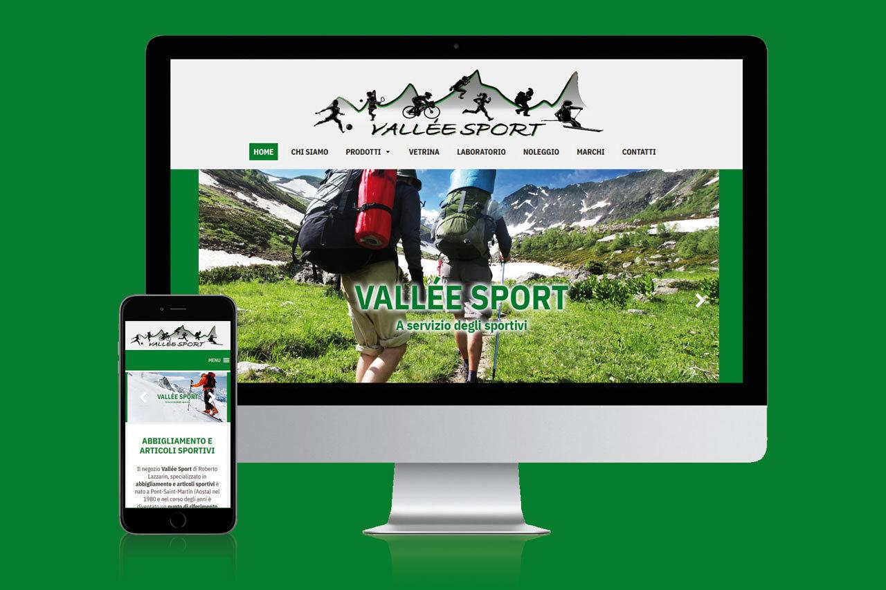 Vallee sport sito internet