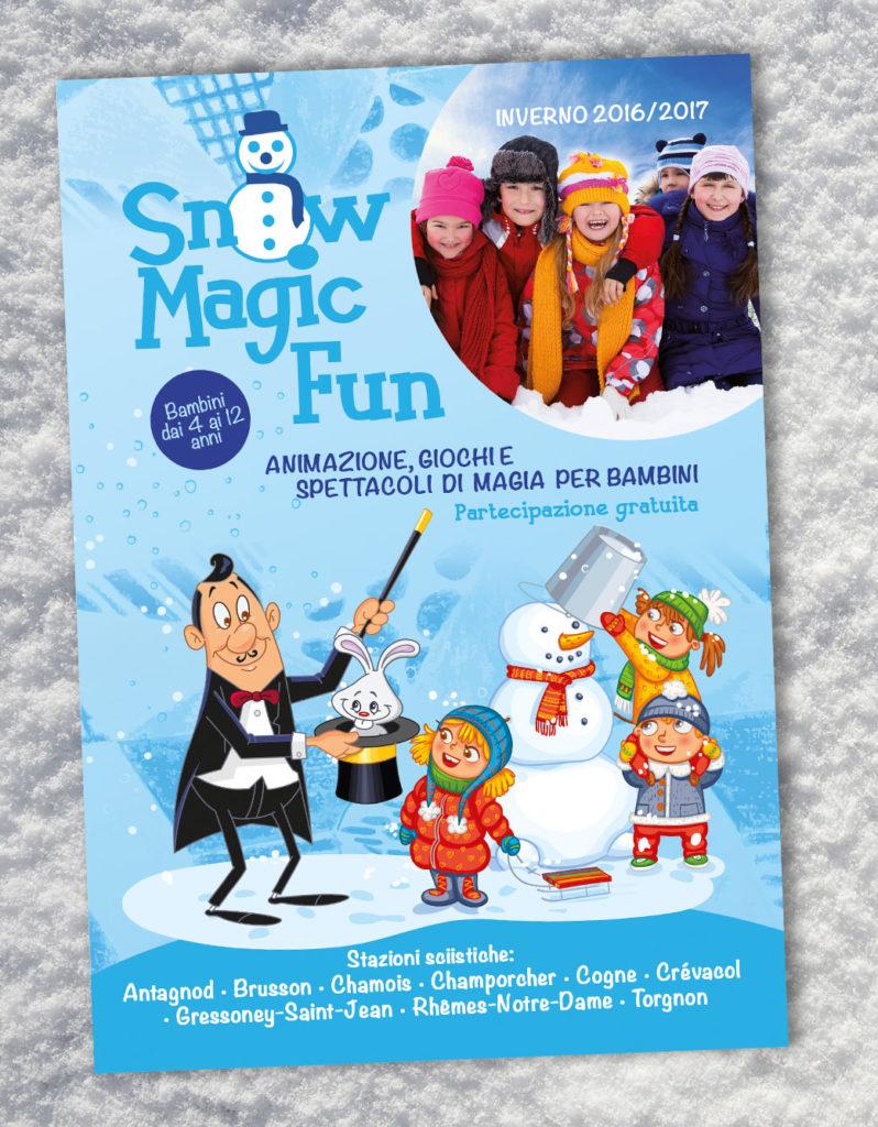 Snow Magic Fun materiale promozionale