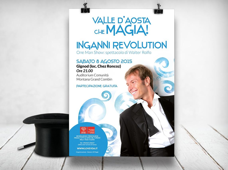 Materiale promozionale Valle d'Aosta che magia