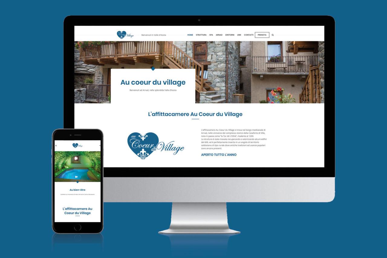 sviluppo sito internet Au coeur du village