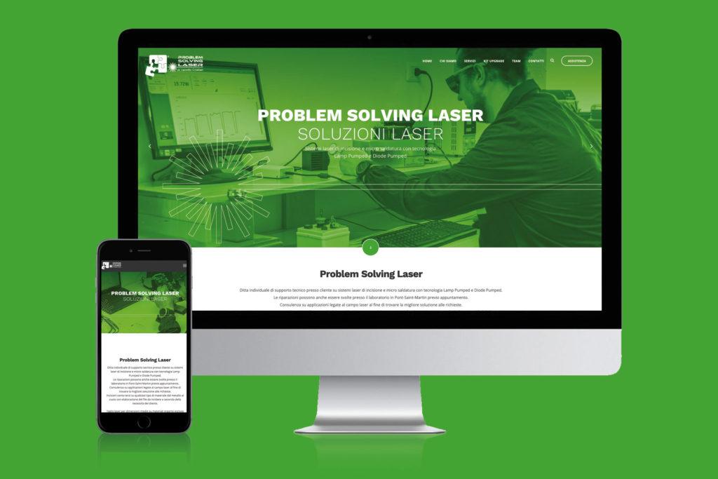 Sviluppo sito Problem Solving Laser